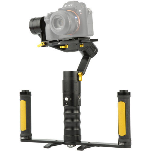DS2-A Dual Grip Handle Gimbal Kit for DSLR and Mirrorless Cameras