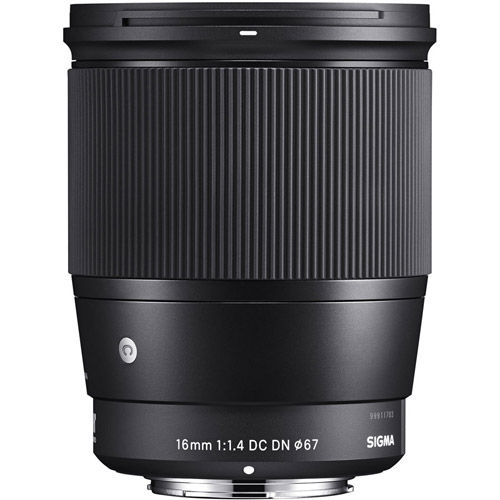 16mm f/1.4 DC DN Contemporary Lens for Sony E-Mount