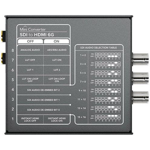 Mini Converter - SDI to HDMI 6G