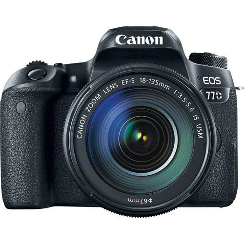 EOS 77D Kit w/ EF-S 18-135mm f/3.5-5.6 IS USM With Rebel Accessory Pack