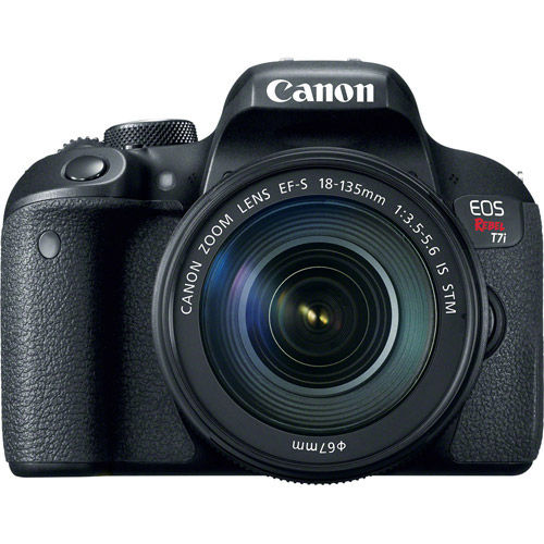 EOS Rebel T7i Kit w/EF-S 18-135mm f/3.5-5.6 IS STM With Rebel Accessory Pack