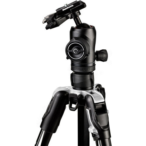 Befree Advance Aluminum 4-Section Kit Black With Twist Locks And MH494-BH Ball Head