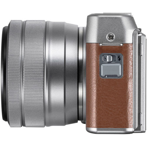 X-A5 Mirrorless Kit Brown w/ XC 15-45mm f/3.5-5.6 OIS PZ Silver Lens
