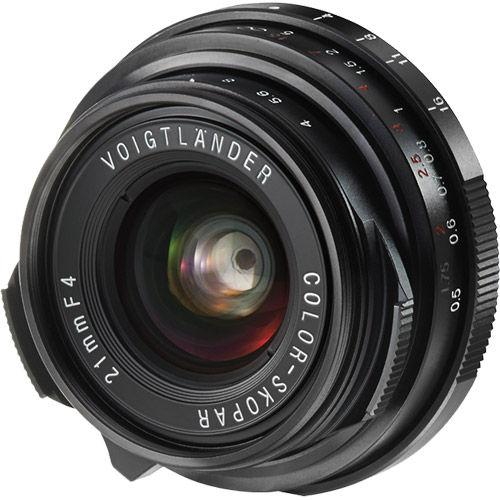 21mm f4 VM Color Skopar Lens