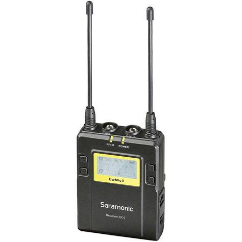 UwMic9 STHK - Single TX HH Wireless Mic Kit (1 x HU9 + 1 x RX9) - UHF Wireless Mic System