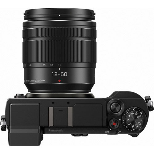 Lumix DC-GX9 Mirrorless Kit w/ 12-60mm Power OIS Lens
