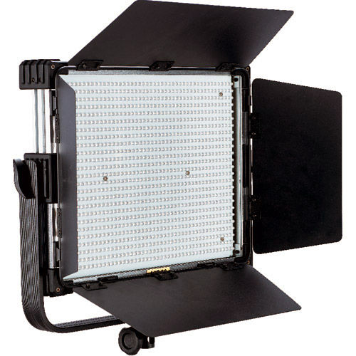 LG-600MSII & LG-D600 Daylight LED Panels and Fresnel 3 light Kit with Stands