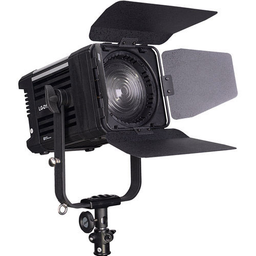 LG-1200MSII & LG-D1200M Daylight LED Panels and Fresnel 3 Light Kit with Stands