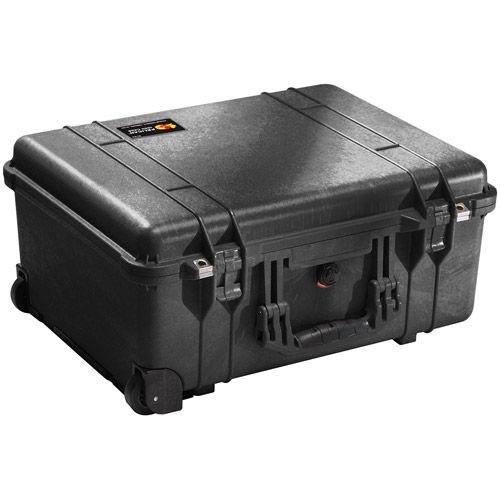 1560 LFC Case Black w/Foam and Lid Organizer