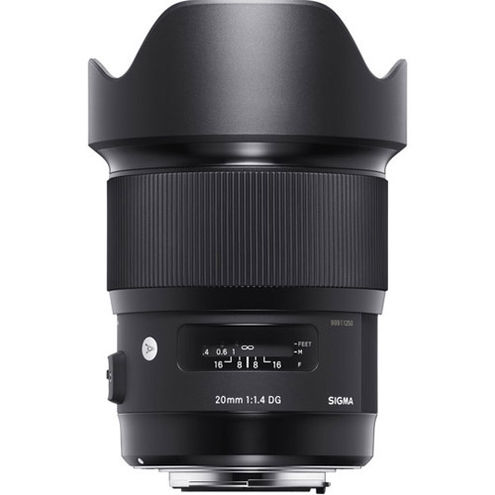 ART 20mm f/1.4 DG HSM Lens for Sony E-Mount