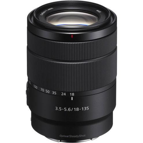 Alpha A6500 Mirrorless Black Kit w/ SEL 18-135mm OSS Lens