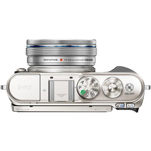 PEN E-PL9 Black Kit w/ 14-42mm EZ Lens (inc. Bag, 16GB Class 10 SD Card, Camera Strap)