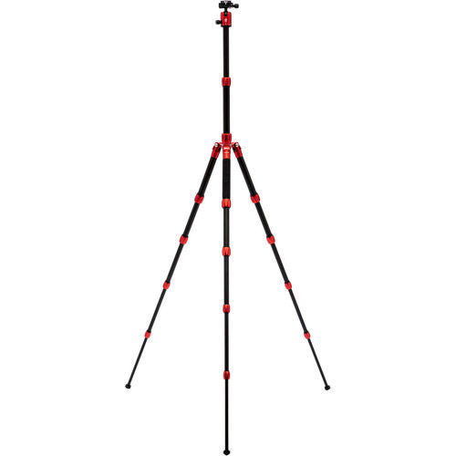 Roadtrip S Aluminum Tripod Red