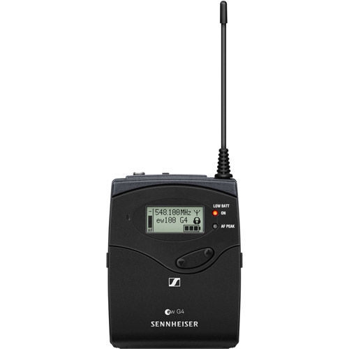 EW100 G4 ME 2-II Wireless Bodypack System w/M2-II Omnidirectional Lavalier Mic - A: 516 to 558 MHz