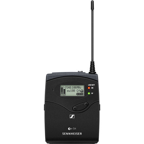 EW135P G4 Camera-Mount Wireless Microphone System w/ 835 Handheld Mic - A1: 470 to 516 MHz