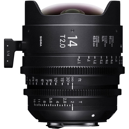 7pc Cine Prime Lens Kit (Canon EF FF) - 14/135mm T2, 20/24/35/50/85mm T1.5 & PMC-004 Case