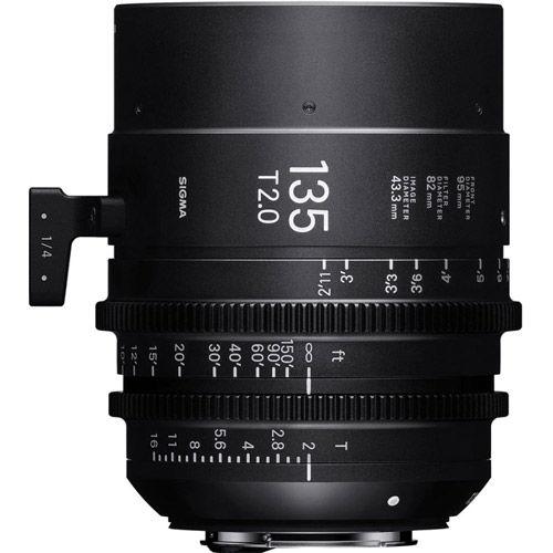 7pc Cine Prime Lens Kit (Sony E FF) - 14/135mm T2, 20/24/35/50/85mm T1.5 & PMC-004 Case