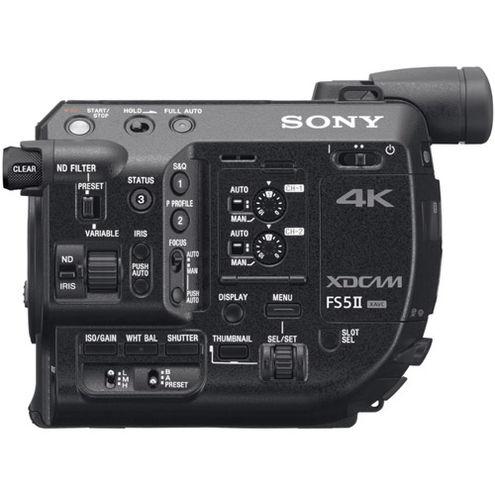PXW-FS5M2K 4K XDCAM Super 35mm Compact Camcorder w/ E PZ 18-105mm F4 G OSS Lens