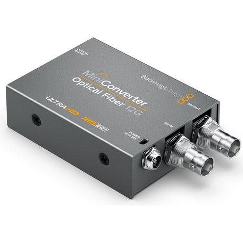Mini Converter Optical Fiber 12G