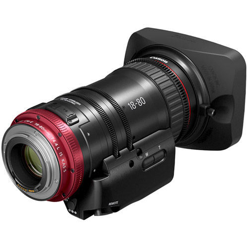 CN-E 18-80mm T4.4 L IS EF Mount +Grip  ZSG-C10 Zoom  Grip for Compact - Servo