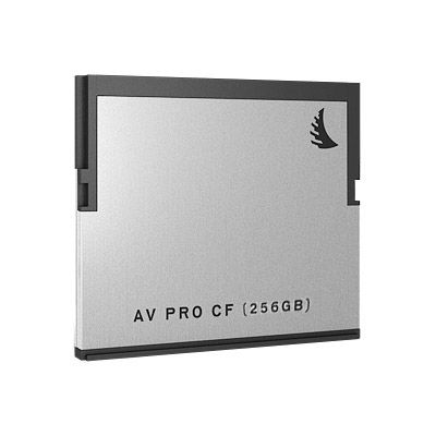 AVPRO 256GB CFast Card, 550MB/s read & 450MB/s write speeds
