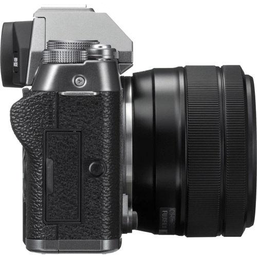 Fujifilm X-T100 Dark Silver Kit w/ XC 15-45mm f/3.5-5.6 OIS PZ Lens