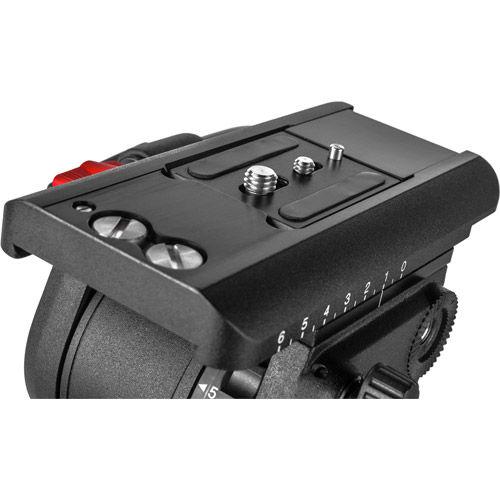 Sachtler System FSB 10 ENG 2 D FSB 10 fluid head (S2045-0001) + tripod ENG 2 D (5