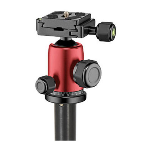 Element Traveller Aluminium Tripod Kit Big Red 5 Section With Ball Head w/ Arca-Style QR