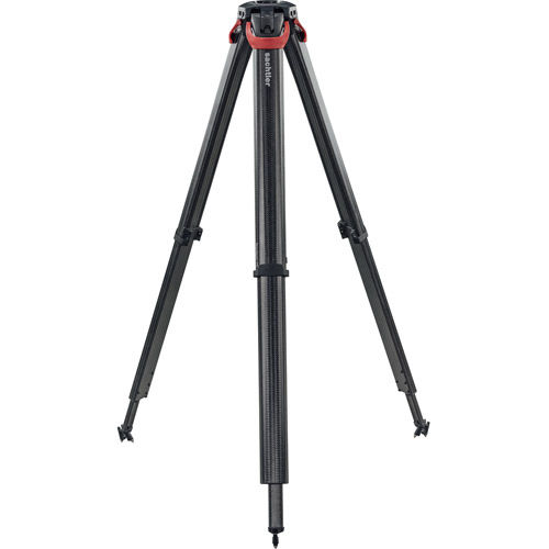 System Ace XL FT MS Fluid Head With Flowtech 75 Tripod, Mid-Level Spreader, Rubber Feet And Bag
