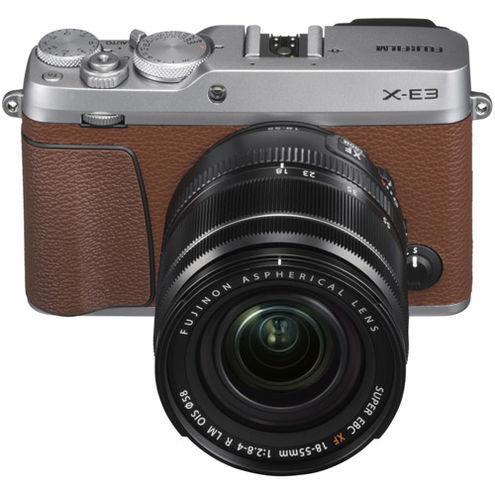 X-E3 Mirrorless Kit Brown w/ XF 18-55mm f/2.8-4.0 R LM OIS Lens