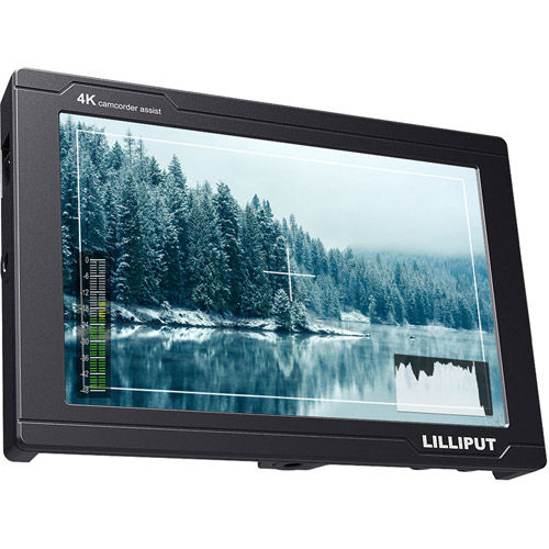 "7"" Camera Top Monitor 1920x1200 native 3G-SDI 4K HDMI input & loop output"