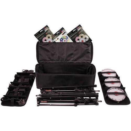 NEO II Explorer Kit with x 3 Neo II 3 x Light Stands, 3 x Hot Shoe Mount