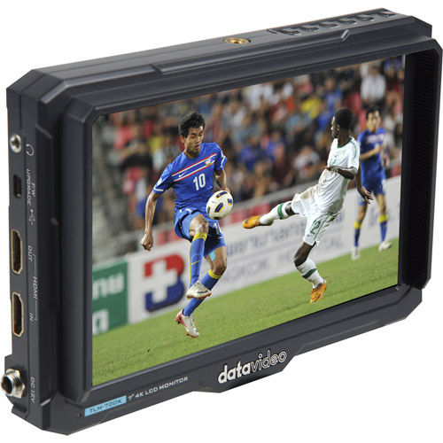 """7"""" 4K LCD monitor 4K HDMI input and output w/Sony F970 battery plate"""