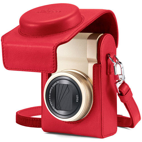 C-Lux Leather Case, Red