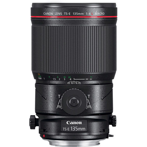 TS-E 135mm f/4L Macro Tilt - Shift Lens
