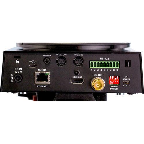 NewTek NDIHX-PTZ1 NDI PTZ Camera Broadcast, Streaming, and Recording