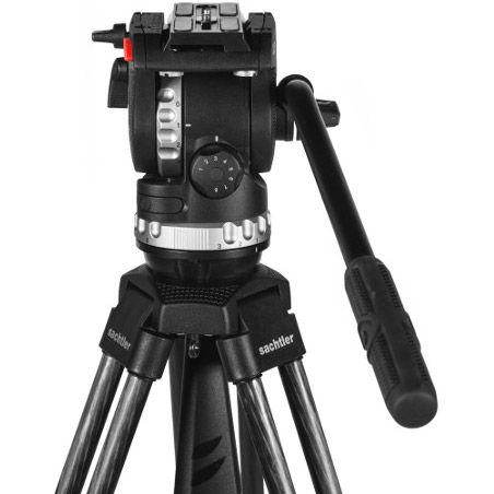 Ace XL Tripod System with CF Legs ,Ground Spreader (75mm Bowl)& Ace XL fluid head