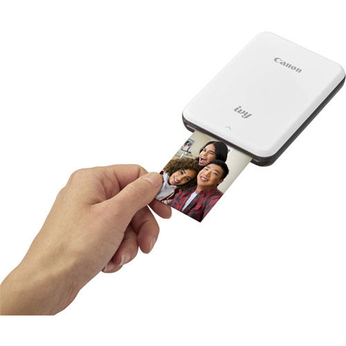 IVY Mini Photo Printer 2 x 3 Slate Gray With ZINK 2 x 3 - 20 Pack Paper