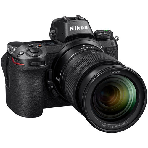 Z7 Mirrorless Kit w/ NIKKOR Z 24-70mm f/4.0 S Lens & NIKKOR FTZ Mount Adapter