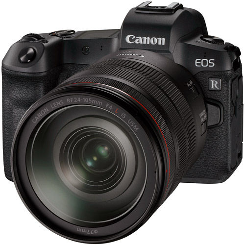 EOS R Full Frame Mirrorless Camera Kit With RF 24-105 f4 L IS USM Lens