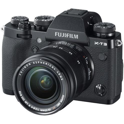 X-T3 Mirrorless Kit Black w/ XF 18-55mm f/2.8-4.0 R LM OIS Lens