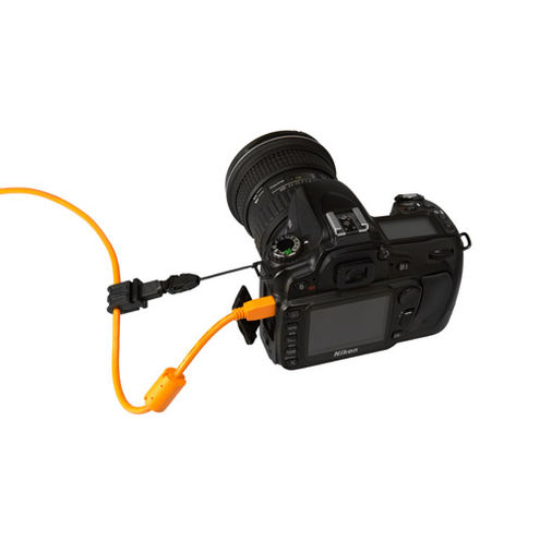 Starter Tethering Kit w/ USB 2.0 Mini-B 8 Pin Cable 15' - Orange