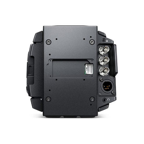 Blackmagic URSA Broadcast Camera with Fujinon XA20sX8.5BRM-K3 MS-01 SemiServo Rear Ctrl Kit