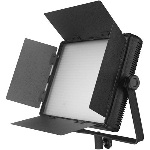 LG-900CSCII LED Light Bicolor with V Mount, Barndoors, WiFi, Diffuser, DC Adapter and Filters