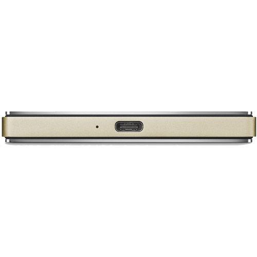 2T Porsche Design Mobile Drive Gold USB-C