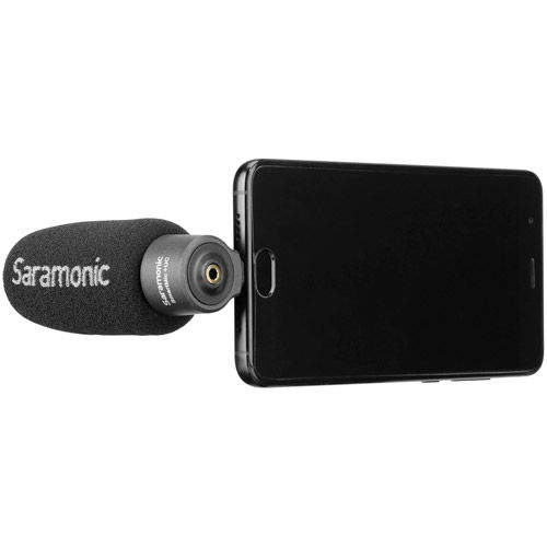 SmartMic+ UC Lightweight smartphone Microphone with USB Type-C output