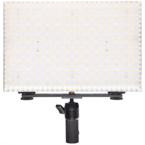 LG-B560CII LED Light Bi-Color with 2 x AA Battery Pack, Handle, Barndoor, Filter