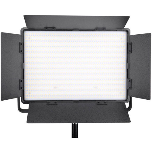 2xLG-1200CSCII  Bi-Color LED Panels 2 Light Kit Stands, Stand Bag and Hard Case