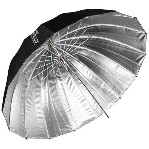 """53"""" Deep Umbrella Silver"""