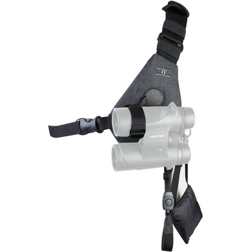 Skout Sling Style Harness for Binoculars - Charcoal Grey